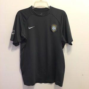 Nike CBF Brasil Brazil Football Sphere Dry Shirt